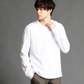 ヴィタル ムッシュ ニコル vital MONSIEUR NICOLE 袖プリントTシャツ (09ホワイト)