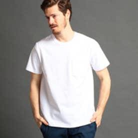 ヴィタル ムッシュ ニコル vital MONSIEUR NICOLE USAコットン無地Tシャツ (09ホワイト)