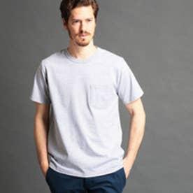 ヴィタル ムッシュ ニコル vital MONSIEUR NICOLE USAコットン無地Tシャツ (29グレー)