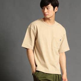 ヴィタル ムッシュ ニコル vital MONSIEUR NICOLE バックプリントTシャツ (18ベージュ)