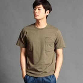 ヴィタル ムッシュ ニコル vital MONSIEUR NICOLE バック刺繍Tシャツ (46カーキ)