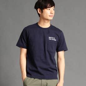 vital MONSIEUR NICOLE バック刺繍Tシャツ (67ネイビー)