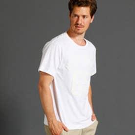 ヴィタル ムッシュ ニコル vital MONSIEUR NICOLE さがら刺繍ナンバリングロゴTシャツ (09ホワイト)
