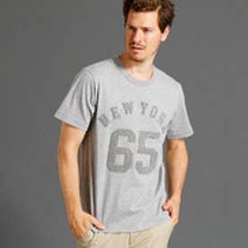 ヴィタル ムッシュ ニコル vital MONSIEUR NICOLE さがら刺繍ナンバリングロゴTシャツ (29グレー)