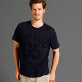 ヴィタル ムッシュ ニコル vital MONSIEUR NICOLE さがら刺繍ナンバリングロゴTシャツ (67ネイビー)