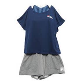 フィラ FILA 【FILA】ロゴTシャツ付4点セット (NV)【返品不可商品】