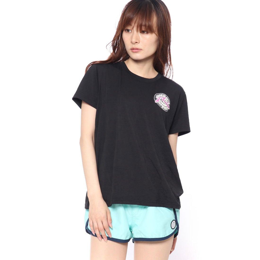 ラスティRUSTYレディスUVTシャツ(BLK)