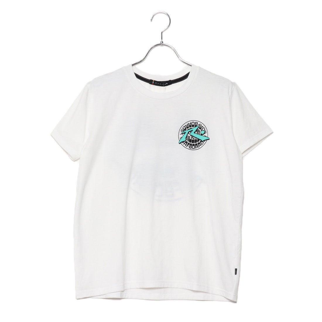 ラスティRUSTYレディスUVTシャツ(WHT)