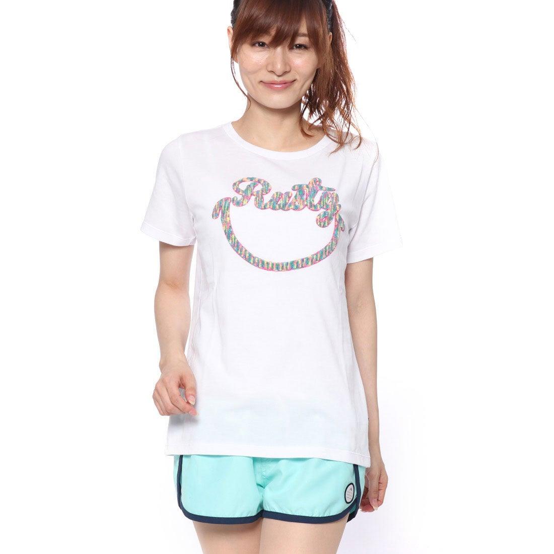 ラスティRUSTYレディスTシャツ(WHT)