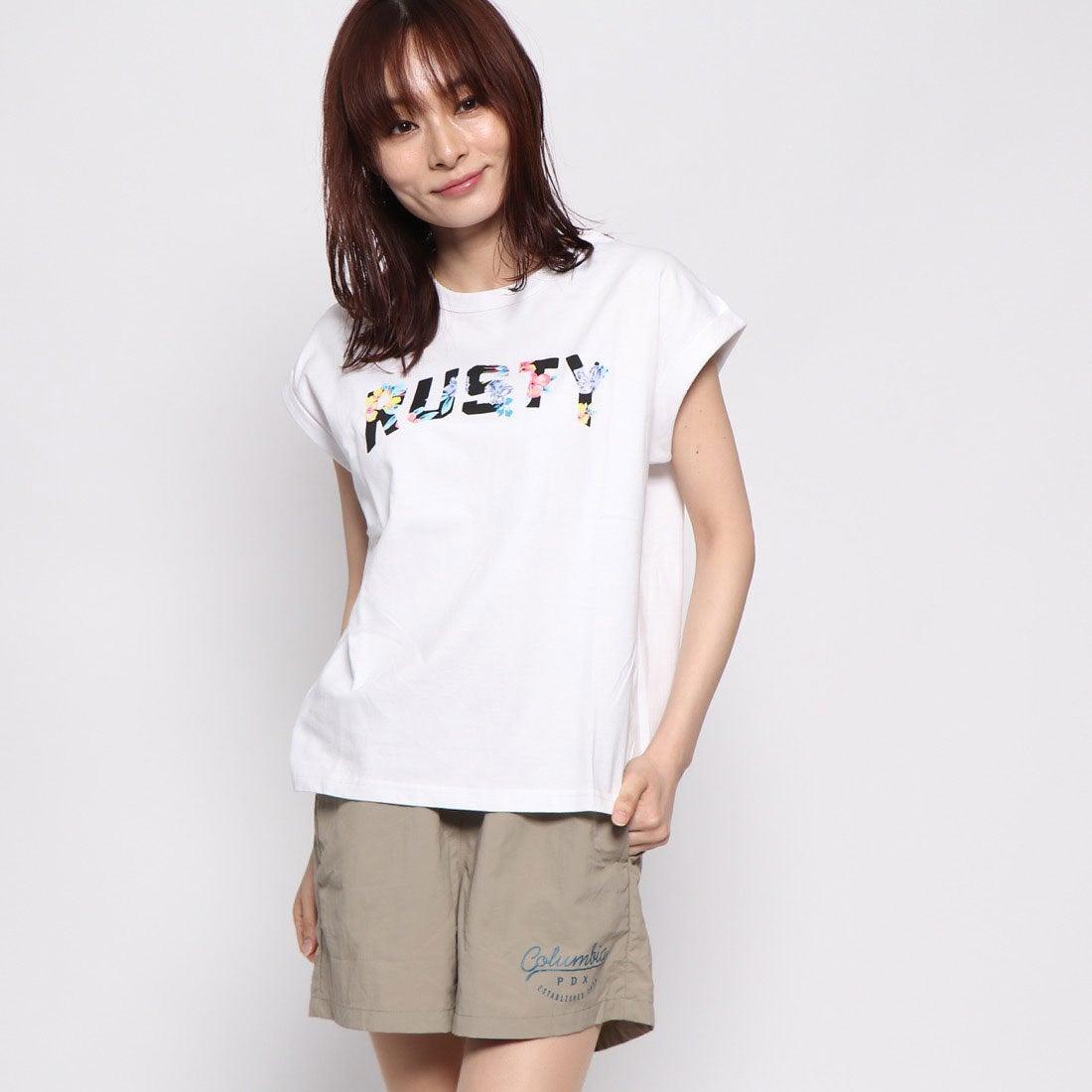 ラスティ RUSTY レディス Tシャツ (WHT)