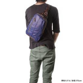 オティアス Otias 合成皮革 B5型ボディバッグ(ブルー)