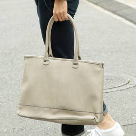 オティアス Otias 2WAYアンティークレザータイプ合皮トートバッグ/取り外し可能なバッグインバッグ付き(GYBE)