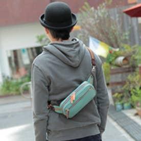 オティアス Otias 【日本製】シュリンクレザーオイル仕上げ×ヌメ革 ヨコ型ボディバッグ/ショルダーバッグ(SB)