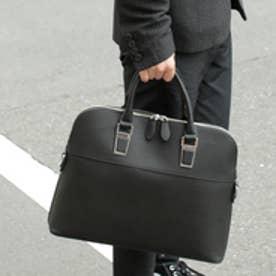 オティアス Otias アンティークレザータイプ合皮 2WAYビジネスバッグ/ブリーフケース (ブラック)
