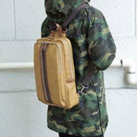 オティアス Otias 【日本製】ソファー用PVC×ヌメ革タイプPVC 合皮リュック/バックパック (キャメル)