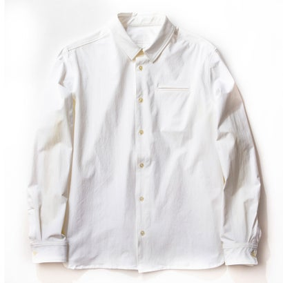MNT 4WAY Bicolor Stretch Shirt/White