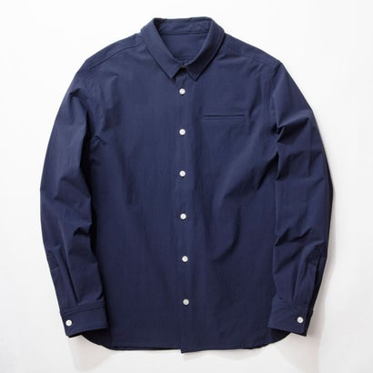 MNT 4WAY Bicolor Stretch Shirt/NAVY