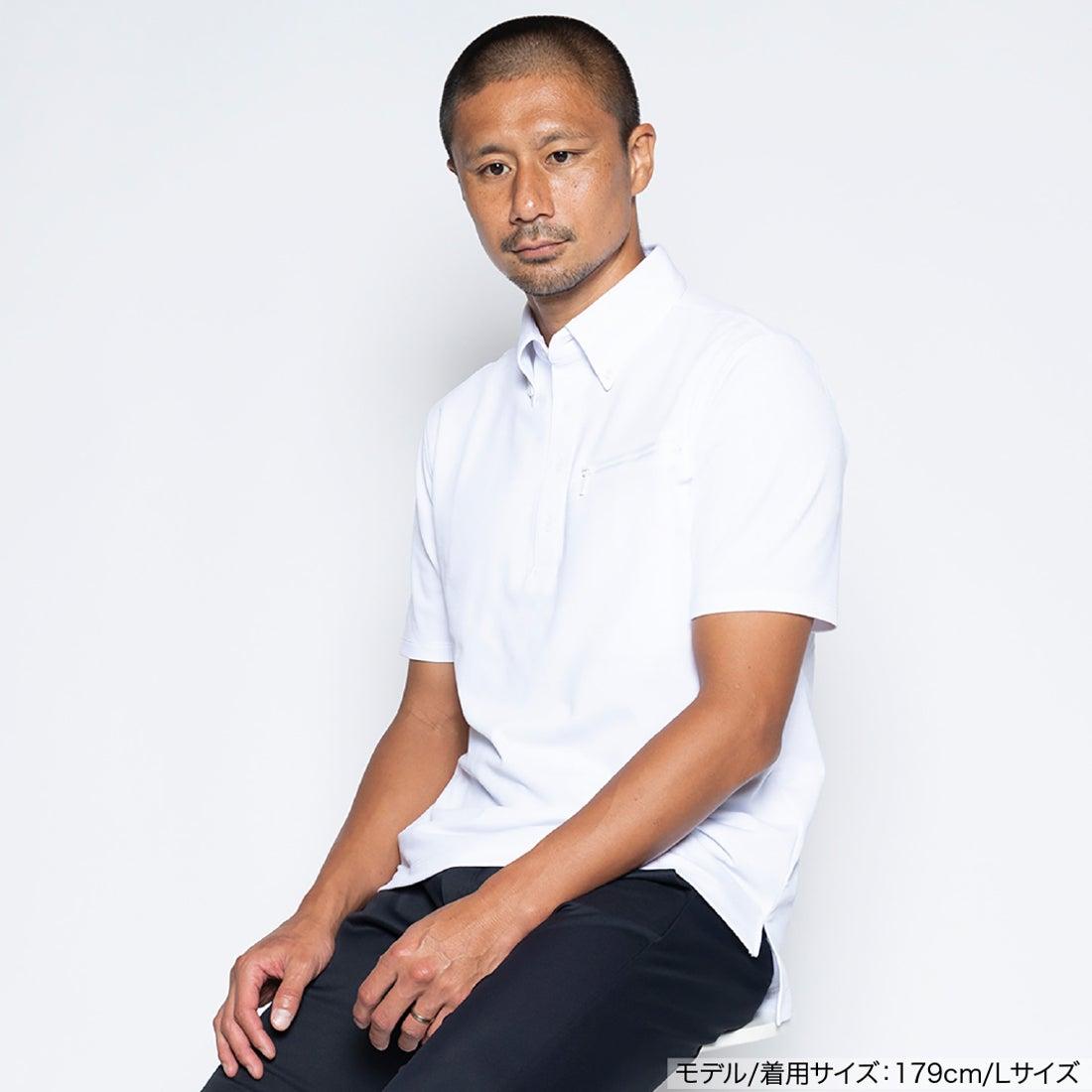 半袖ワークビズポロシャツ