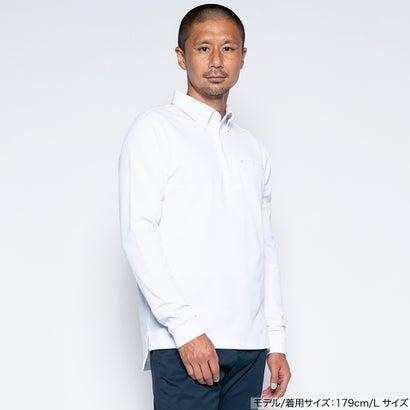 ワークウェアスーツ WORK WEAR SUIT 長袖ワークビズポロシャツ (ホワイト)