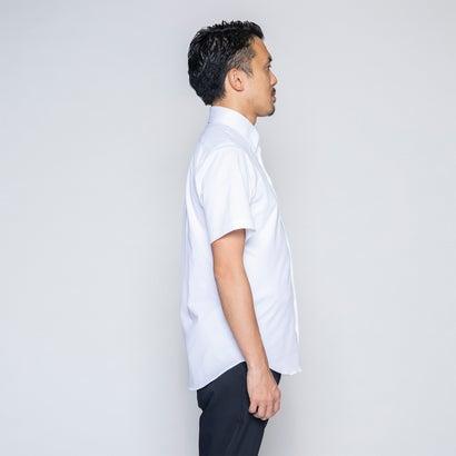 究極の半袖ボタンダウンシャツ (ホワイト)