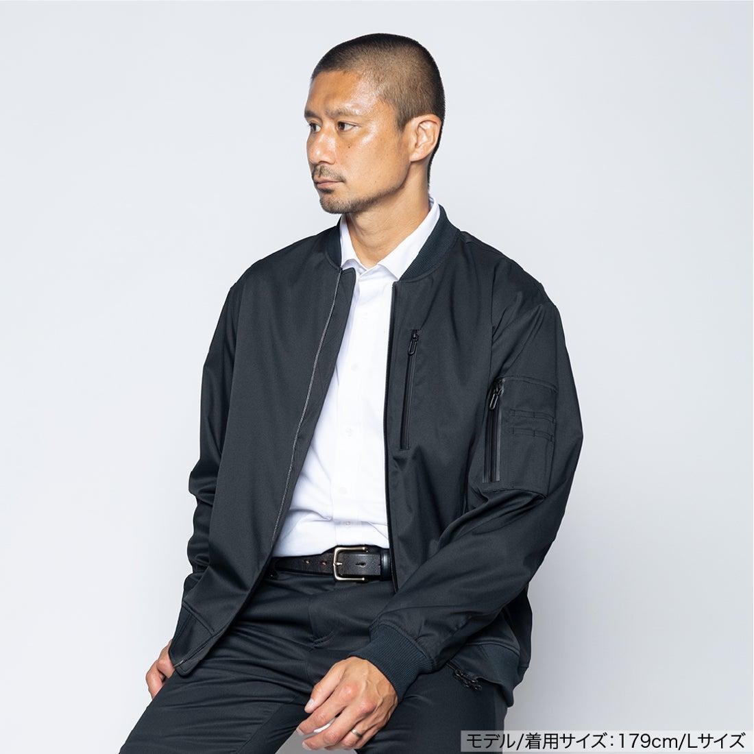 洗えるライトMA-1(ブラック)