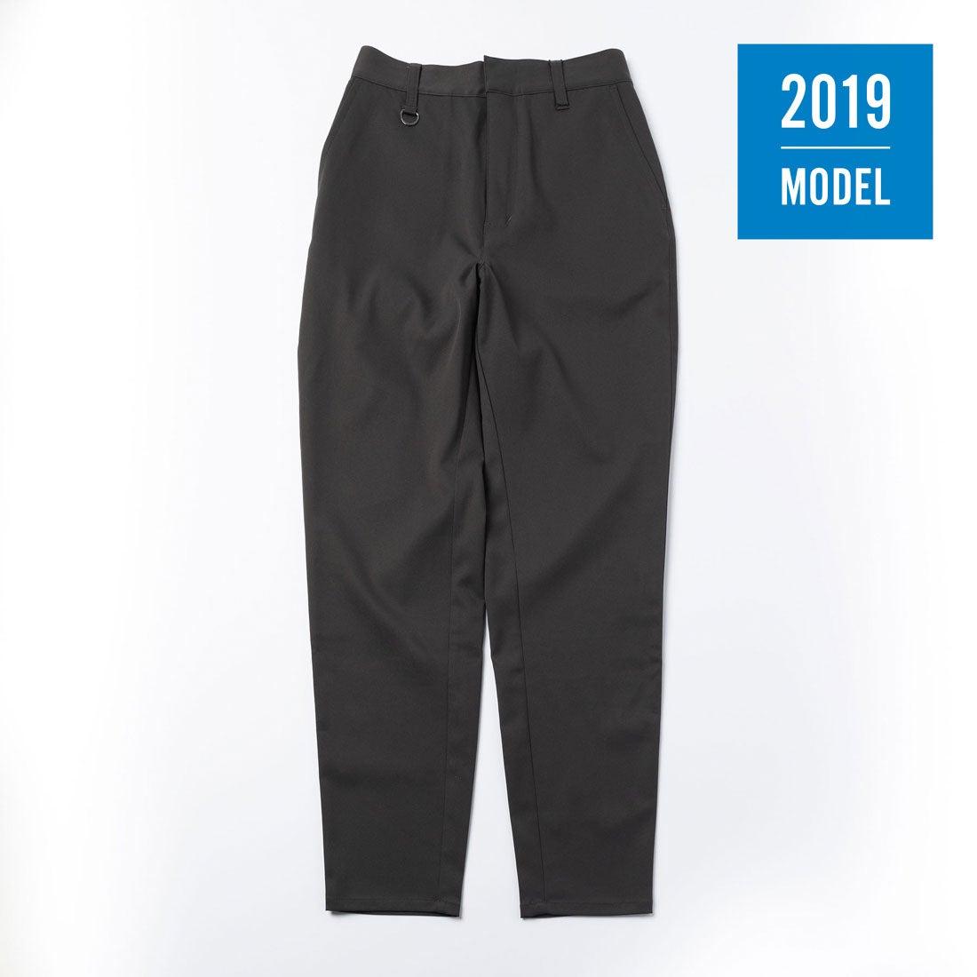 【2019年モデル】レディース ストレートパンツ(スチールグレー)【返品不可商品】