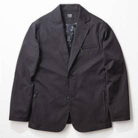 YZO by WORK WEAR SUIT カモフラージュテーラードジャケット(ブラック)