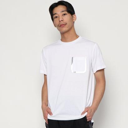シームテープポケットTシャツ(シルバー)YZO by WORK WEAR SUIT