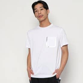 YZO by WORK WEAR SUIT シームテープポケットTシャツ(シルバー)