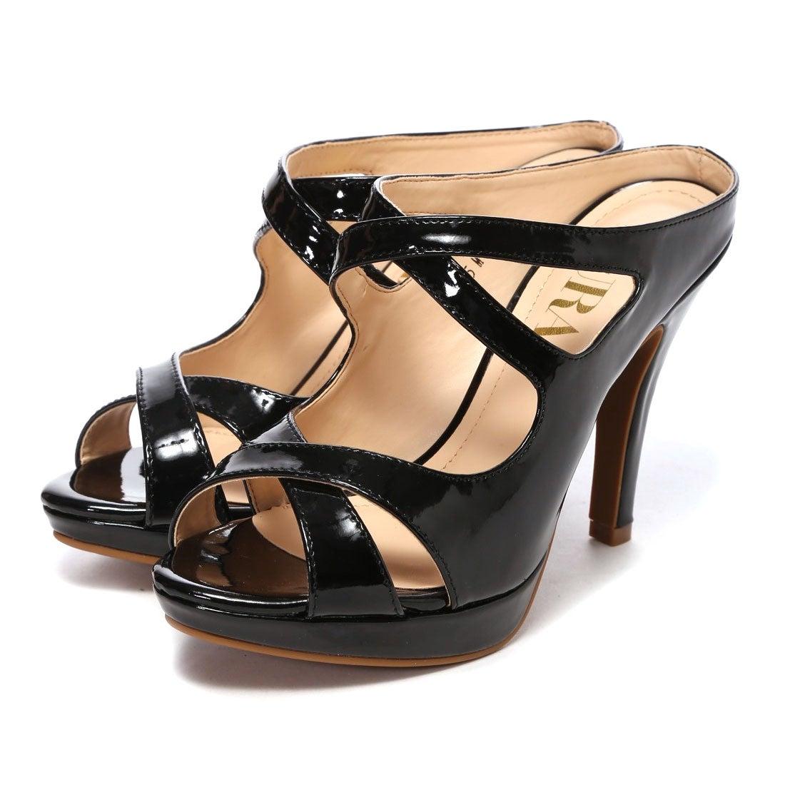 デュラス DURAS ミュールサンダル(ブラック) ,靴とファッションの通販サイト ロコンド