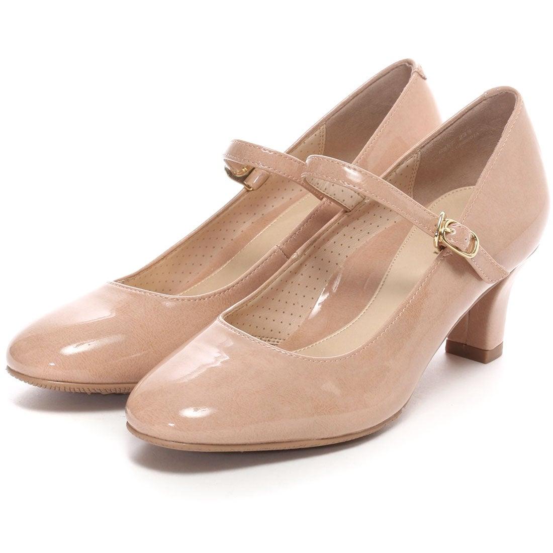 ピッティ Pitti ストラップレインパンプスPDR857(ピンクベージュエナメル) ,靴とファッションの通販サイト ロコンド