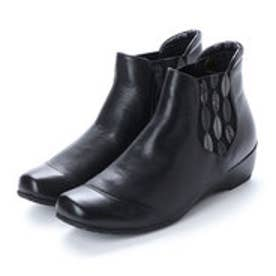サッソー Sasso ショートブーツ (ブラック)