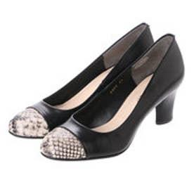 アンタイトル シューズ UNTITLED shoes ラウンドパンプス UT9400 (ブラック)