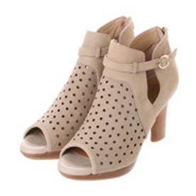 アンタイトル シューズ UNTITLED shoes レーザーカットグラディエーター UT8813 (ライトベージュヌバック)