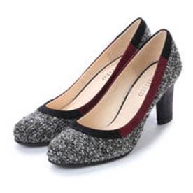 アンタイトル シューズ UNTITLED shoes パンプス UT6965 (ブラックファブリックコンビ)