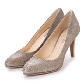 アンタイトル シューズ UNTITLED shoes パンプス UT6181 (ライトベージュメタリックファブリック)