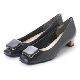 アンタイトル シューズ UNTITLED shoes パンプス UT9336 (ブラックコンビ)