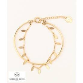 23区 【MEDECINE DOUSE】Leaf Bracelet ブレスレット (ゴールド系)