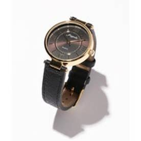 any SiS エレガントレトロモチーフ ウォッチ(腕時計) (ブラック系)
