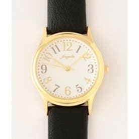 any SiS クラシカル ウォッチ(腕時計) (ブラック系)