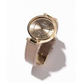 any SiS エレガントレトロモチーフ ウォッチ(腕時計) (キャメル系)