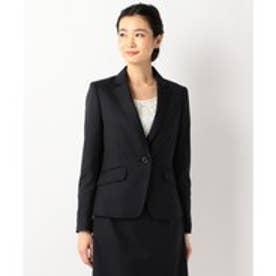 any SiS 【洗えるスーツ】ウォッシャブルT/Wスーツ テーラードジャケット (ネイビー系1)