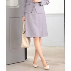any SiS 【洗える】T/Rウォッシャブルスーツ スカート (ライトグレー系1)