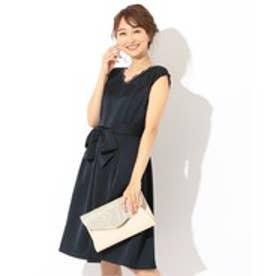 any SiS 【洗える】スカラネックレース ドレス (ネイビー系)
