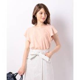 Feroux 【洗える】Basic Tシャツ (ピンク系)