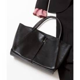 ICB Leather Tote バッグ (ブラック系)