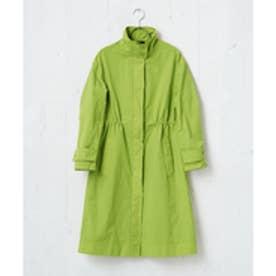 ICB 【数量限定】Product Dye Custom ロングコート (黄緑系)