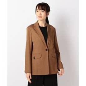 ICB 【ICB NY】Crepe Suiting ジャケット (ブラウン系)