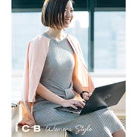 ICB L 【洗える】Compact Cotton ジャケット (ピンク系)