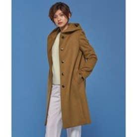 ICB L 【40.48サイズ有り】Lumi フーデット コート (キャメル系)